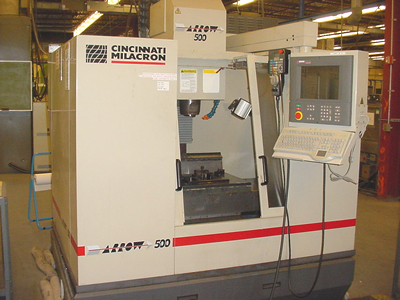 Cincinnati Arrow 500 Vertical Machining Center - k12041