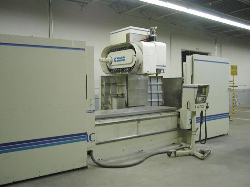 Komo VMC50 Vertical Machining Center - K12071