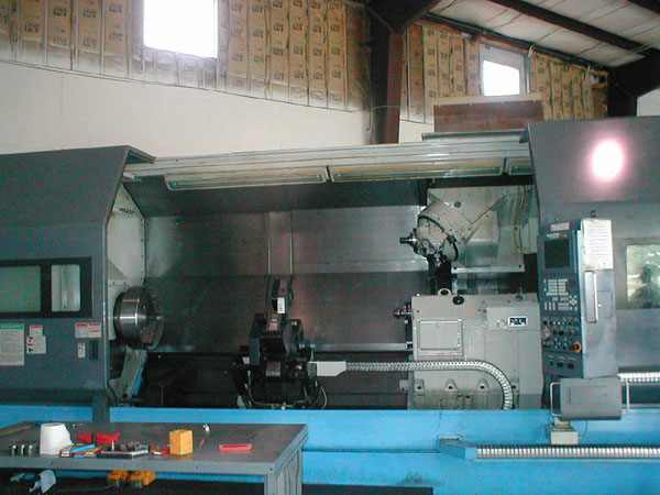 "Mazatrol FUSION 640 CNC, 36.02"""" Swing,?21"" Chuck, 120"" Centers, Live Tooling, 80 Station Automatic Tool Changer, 5.12"" Y-Axis, 4.64"" Spindle Bore, LNS Steady Rest, 1998"