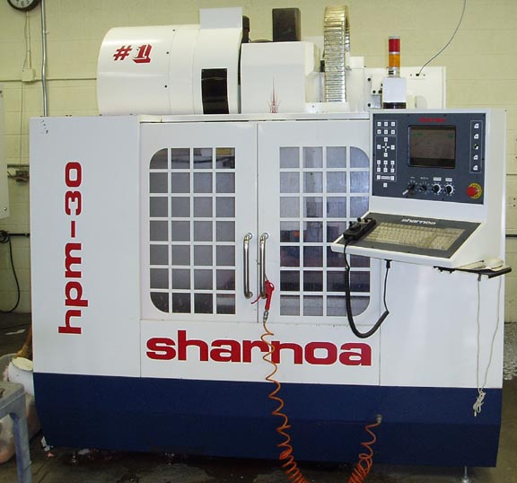 Sharnoa Vertical Machining Center
