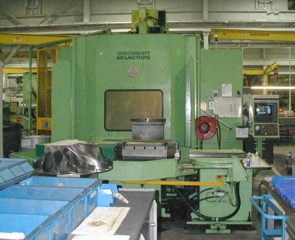 Cincinnati T-35 Horizontal Machining Center