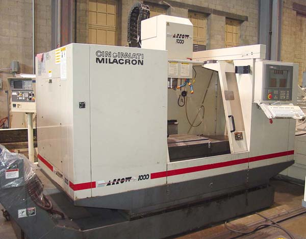 Cincinnati Arrow 1000 Vertical Machining Center