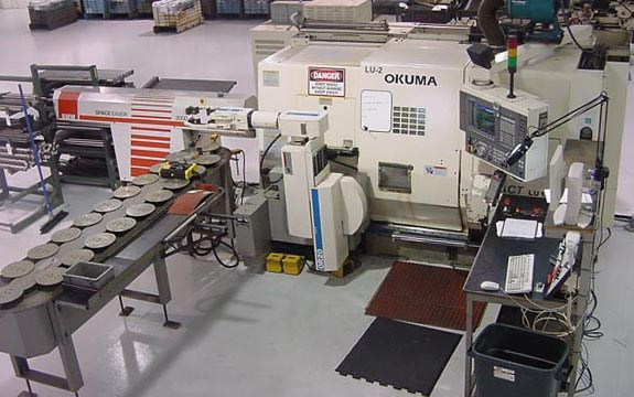 OKUMA LU-15 BIG BORE FOR SALE 4-Axis CNC Lathe 4-Axis CNC TURNING CENTER