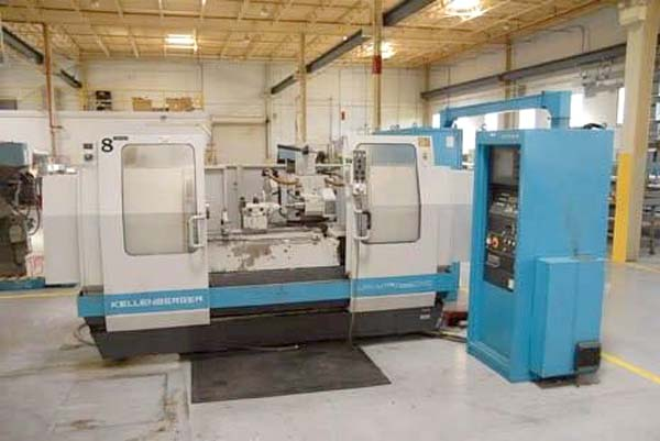 "14"" x 40"" KELLENBERGER FOR SALE CNC UNIVERSAL CYLINDRICAL GRINDER W/INTERNAL ATTACHMENT"