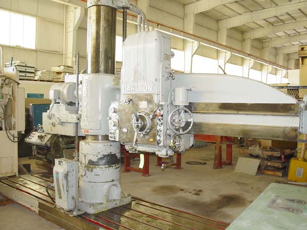 "6'15"" CARLTON FOR SALE RADIAL DRILL"