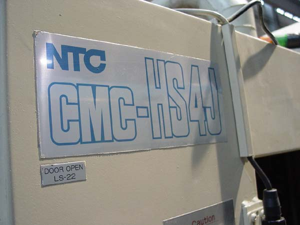 NTC CMC HSJ4 FOR SALE 4-AXIS CNC MILL USED CNC MILL CNC HORIZONTAL MACHINING CENTER