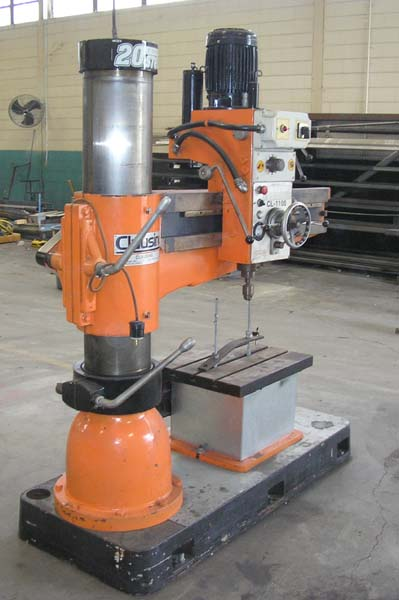 Clausing radial drill for sale cl1100