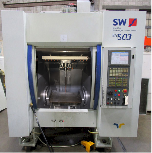 SW 4-Axis CNC Vertical Machining Center