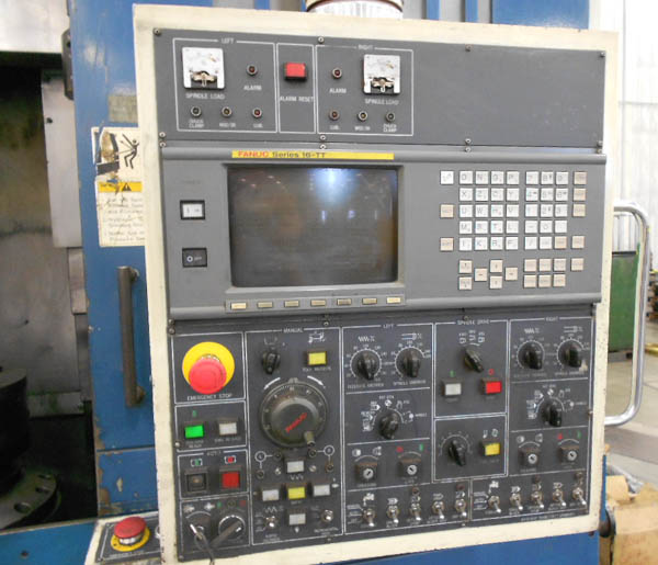 Daewoo V15-2SP Twin Spindle CNC Vertical Turning Center for sale