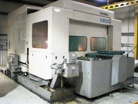 Okuma MC-800H CNC Horizontal Mill Machining Center for sale