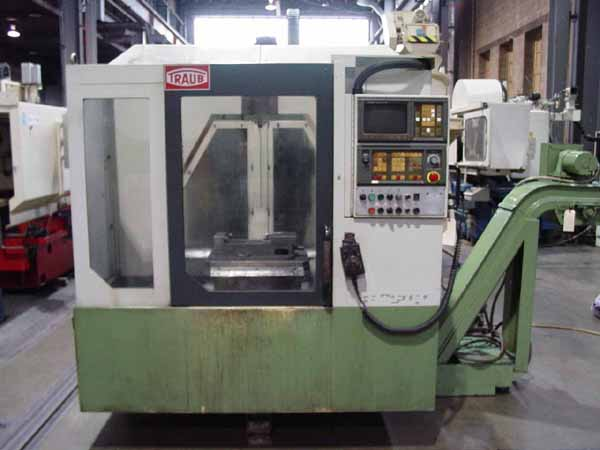 Traub TVC-200P CNC Vertical Mill Machining Center for sale