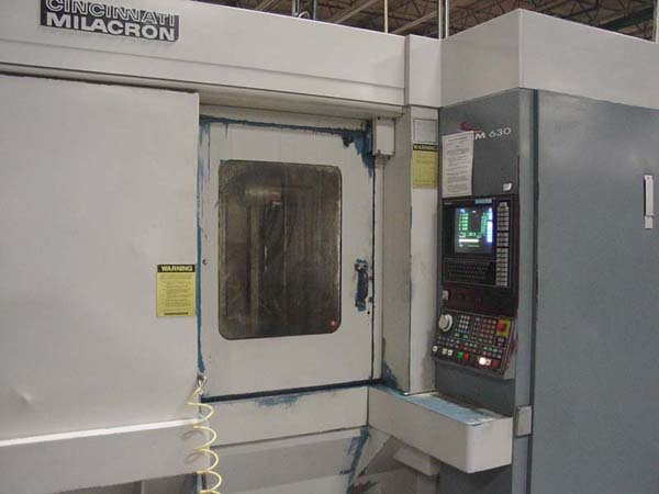 CINCINNATI MILACRON MAXIM 630 FMS MACHINING CENTER CELL FOR SALE