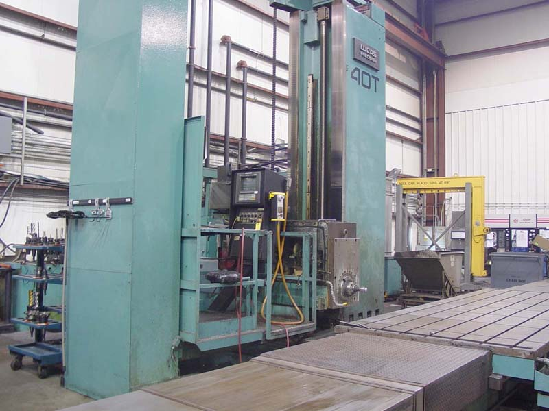 "6"" Lucas Horizontal Boring Mill CNC Boring Mill  for sale"