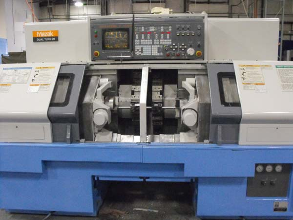 Mazak Dual Turn 20 Twin Spindle CNC lathe cnc turning center for sale