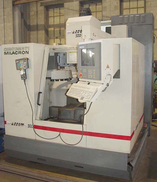 Cincinnati Arrow 500 CNC Machining Center CNC Mill for sale
