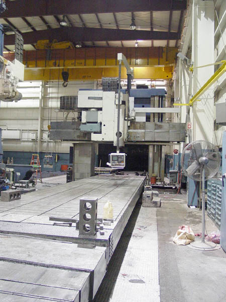 Waldrich 5-Sided Bridge Mill 3.15M CNC Planer Mill CNC Vertical Machining Center for sale