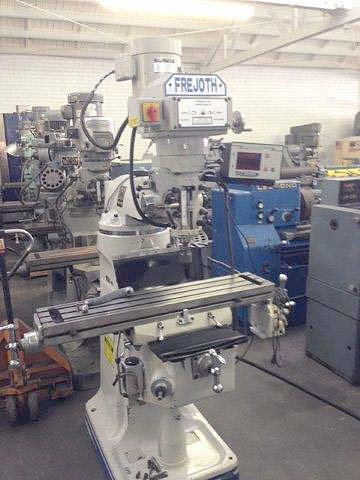 Bridgeport Variable Speed Mill Milling Machine  for sale
