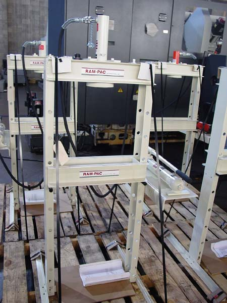 10 Hon H-Frame Hydraulic Press