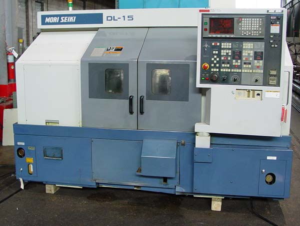 Mori Seiki DL-15 DL-150 Dual Spindle Twin Turret 2-Axis CNC