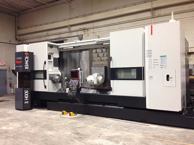 Mazak e500HS Integrex Multi-Tasking CNC Turning Center with Live Tooling, Universal head ,Y axis  for sale