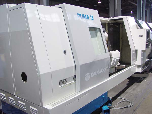 Daewoo Puma 18 CNC Turning Center CNC Lathe for sale