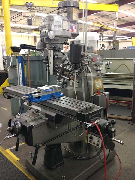 Bridgeport Series 2 Series 1 Vertical Mill Milling Machine with Power Feed and DRO  for sale
