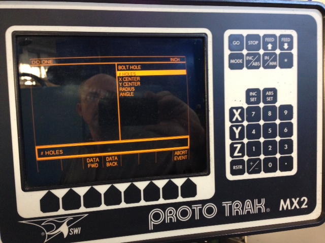 Chevalier Mill with Southwest Industries 2-Axis CNC Control Mill for sale