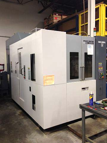 Okuma MA400HA CNC Horizontal Machining Center CNC Horizontal Mill for sale