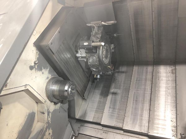 Nakamura Tome WT-300MMYS 8-Axis Twin Spindle Twin Turret CNC Turning Center with Y-Axis and Live Tooling Nakamura WT-300 wt300 for sale